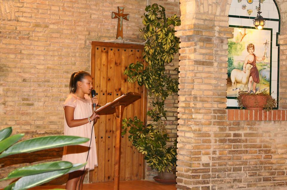 Lucia Suay Enguix Fallera Mayor Infantil 2014
