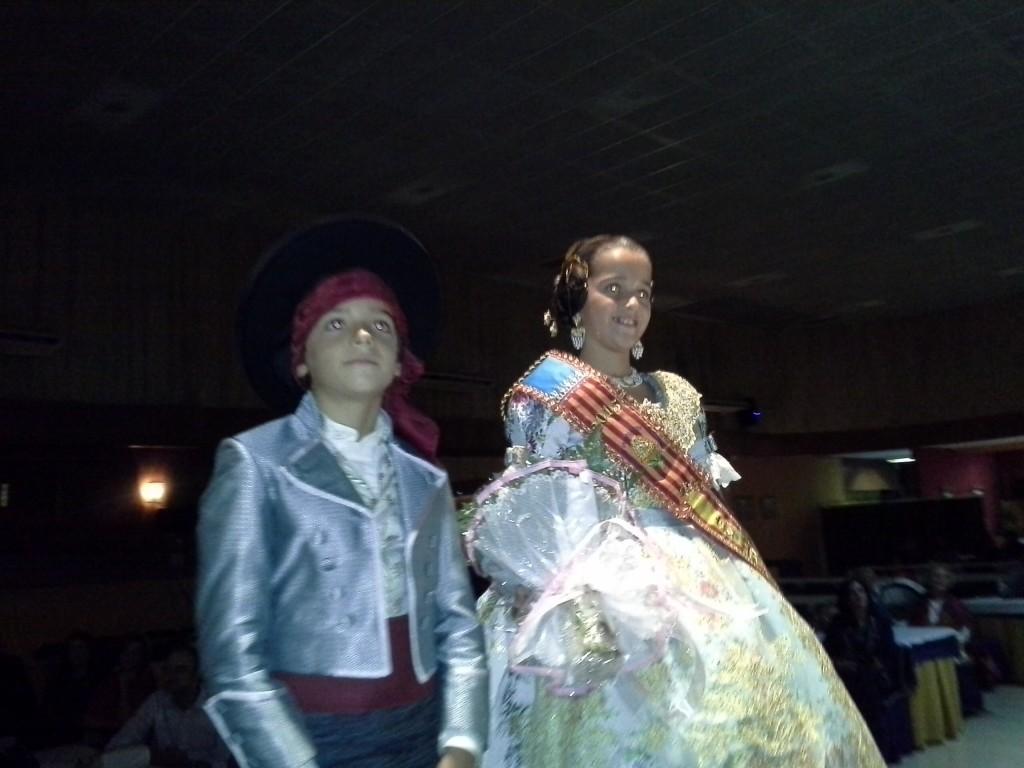 Paula y Alvaro Ibañez, Fallera Mayor y Presidente Infantil 2015