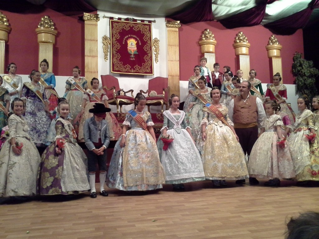 Fallera Mayor Infantil de Valencia 2105 y Falleras Mayores y Costes de Honor de Valencia y de la Falla